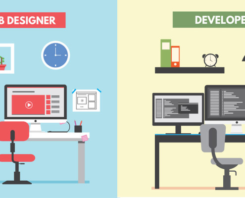 website developer vs website designer